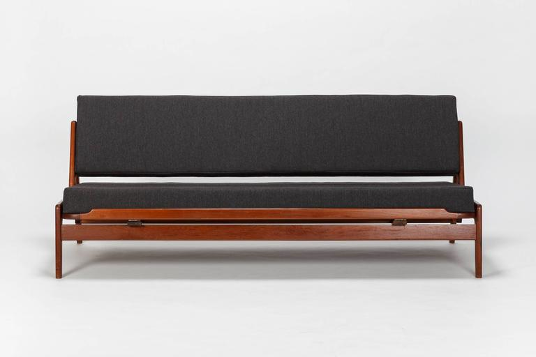 Fesselnd Scandinavian Arne Wahl Iversen Sofa Komfort Teak, 1950s 2