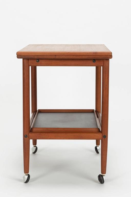 Grete jalk bar cart p jeppesen teak formica 1950s for for P jeppesen furniture