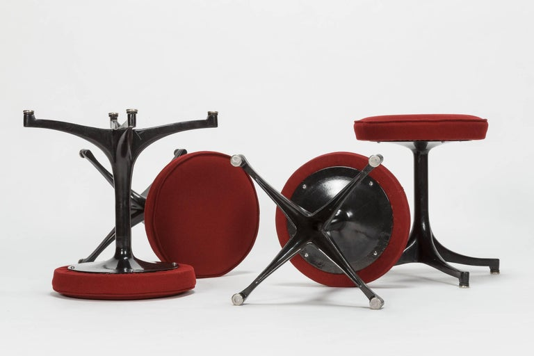 Four George Nelson Stool By Herman Miller 1950s For Sale