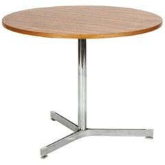 Small Toni Bee Table Wohnbedarf Walnut, 1970s