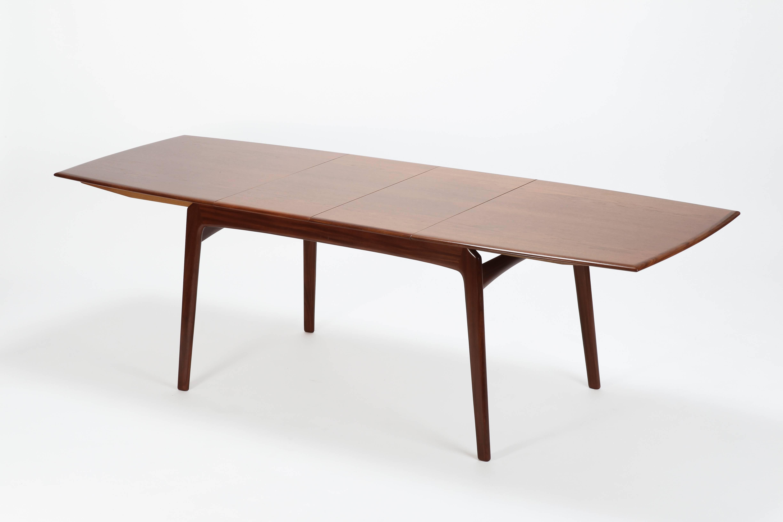 Ordinaire Mid Century Modern Erik Christensen Boomerang Dining Table Set Slagelse,  1950s For Sale