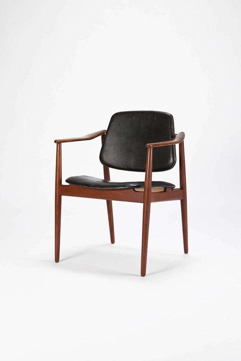Danish Arne Vodder Chair Bovirke 50's For Sale