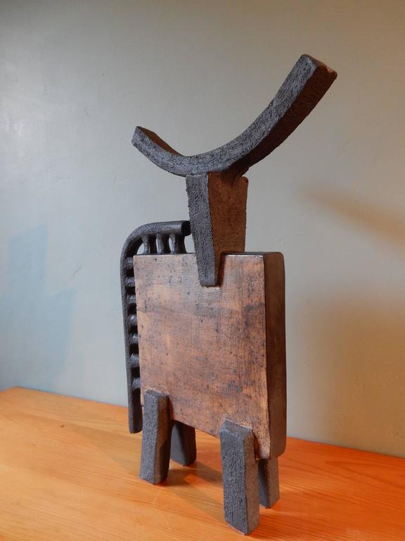 Dominique Pouchain Abstract Bull Ceramic 3