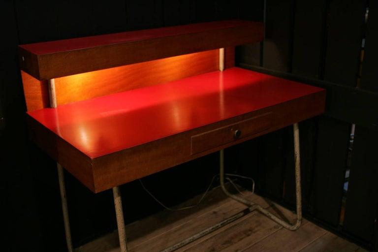 Architect french desk 1950 for sale at 1stdibs for Architecte desl definition