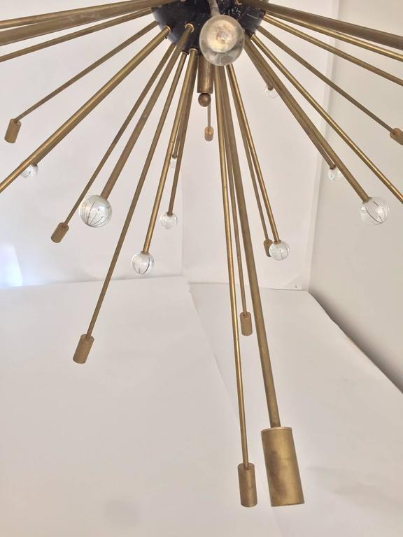 20th Century Important, Rare Oversized Sputnik Pendant Lights by Stilnovo, Italy, circa 1970s For Sale