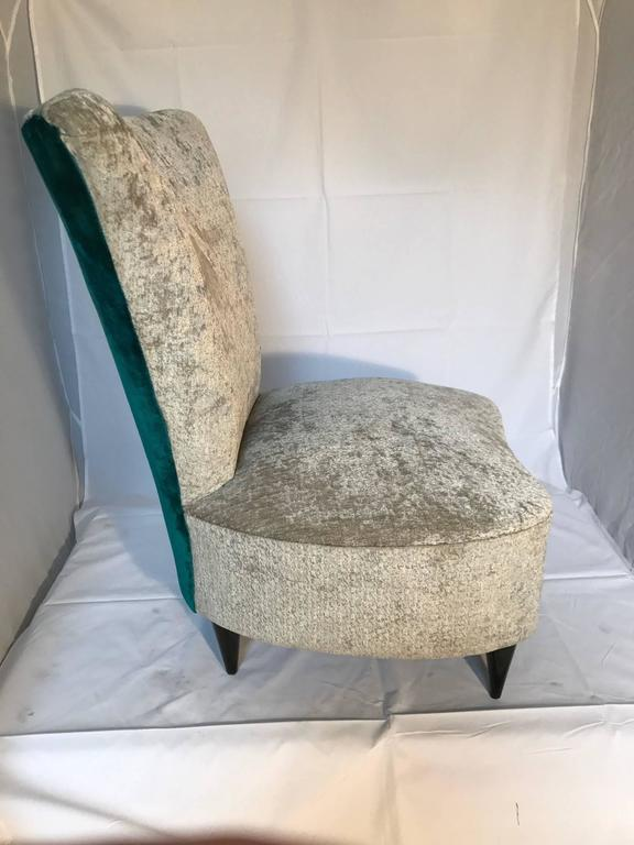 single small bedroom chair, italian, 1940s for sale at 1stdibs