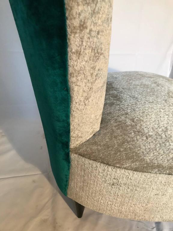 Single Small Bedroom Chair Italian 1940s At 1stdibs