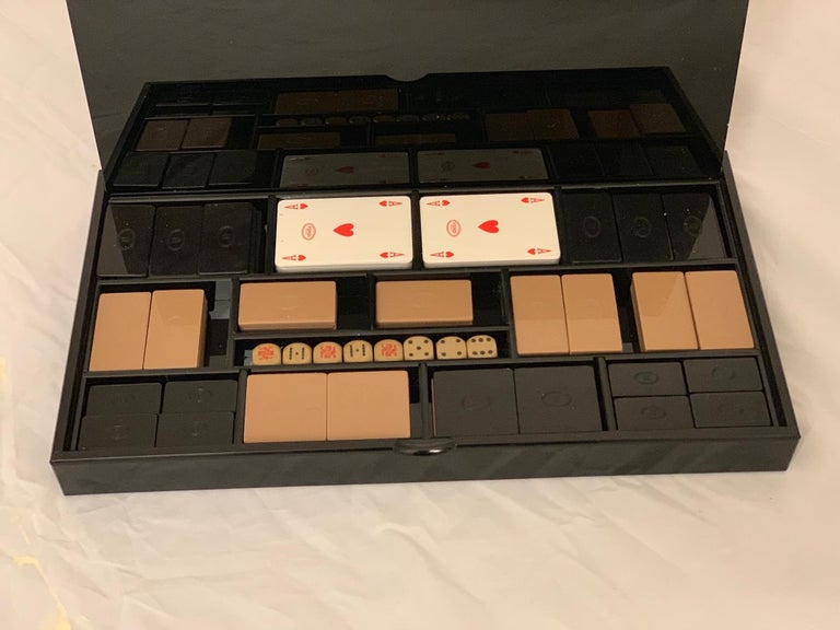 Italian 1970s Vintage Playing Cards Set by Fendi In Excellent Condition For Sale In London, GB