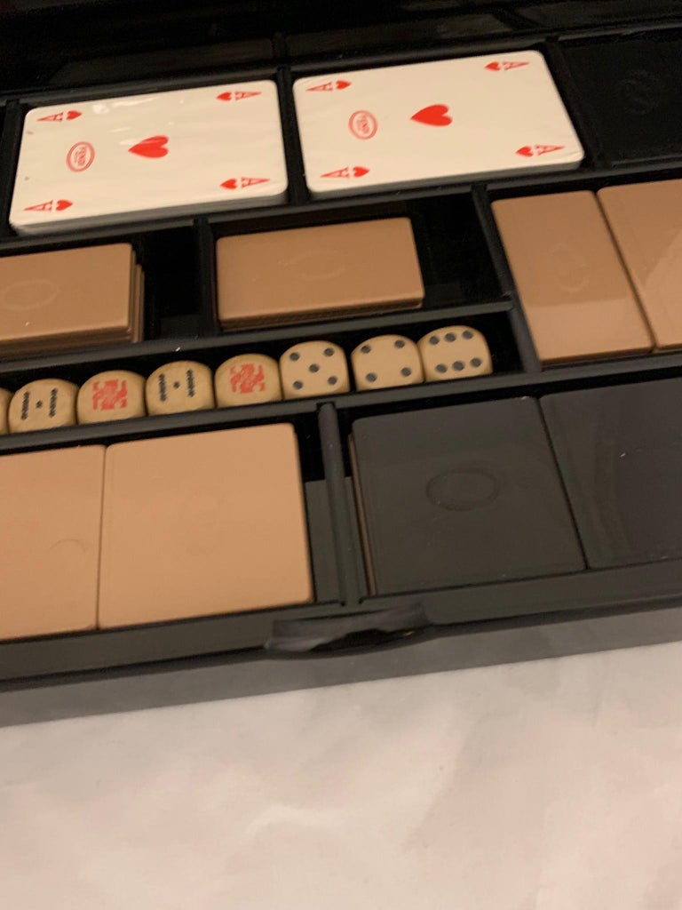 20th Century Italian 1970s Vintage Playing Cards Set by Fendi For Sale