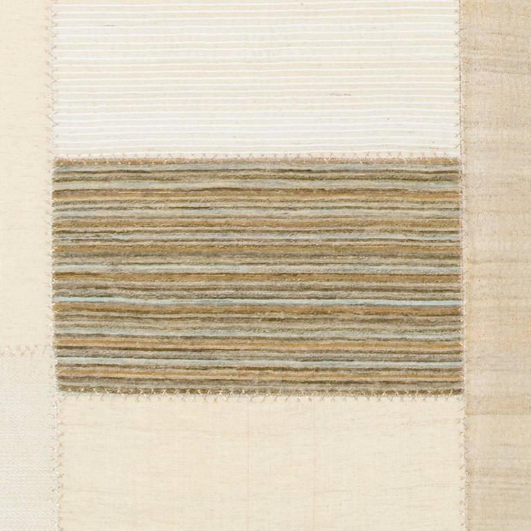 Turkish Mid-20th Century Vintage Kilim Composition Carpet For Sale