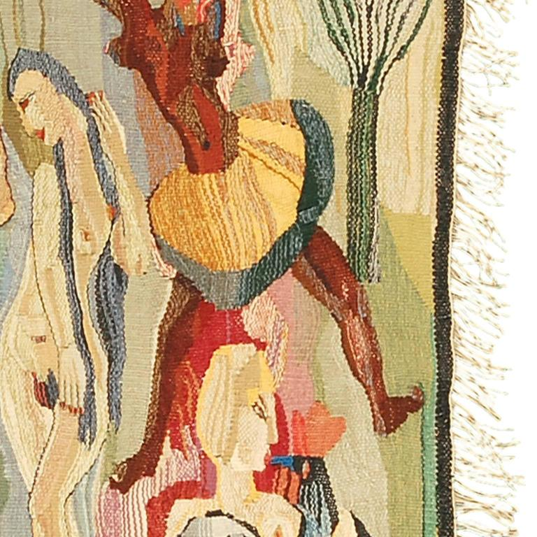 Swedish Wall Hanging by Ingrid Segerlind-Lindblad In Good Condition For Sale In New York, NY
