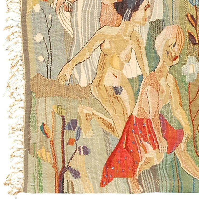 Swedish Wall Hanging by Ingrid Segerlind-Lindblad Designer: Ingrid Segerlind-Lindblad handwoven