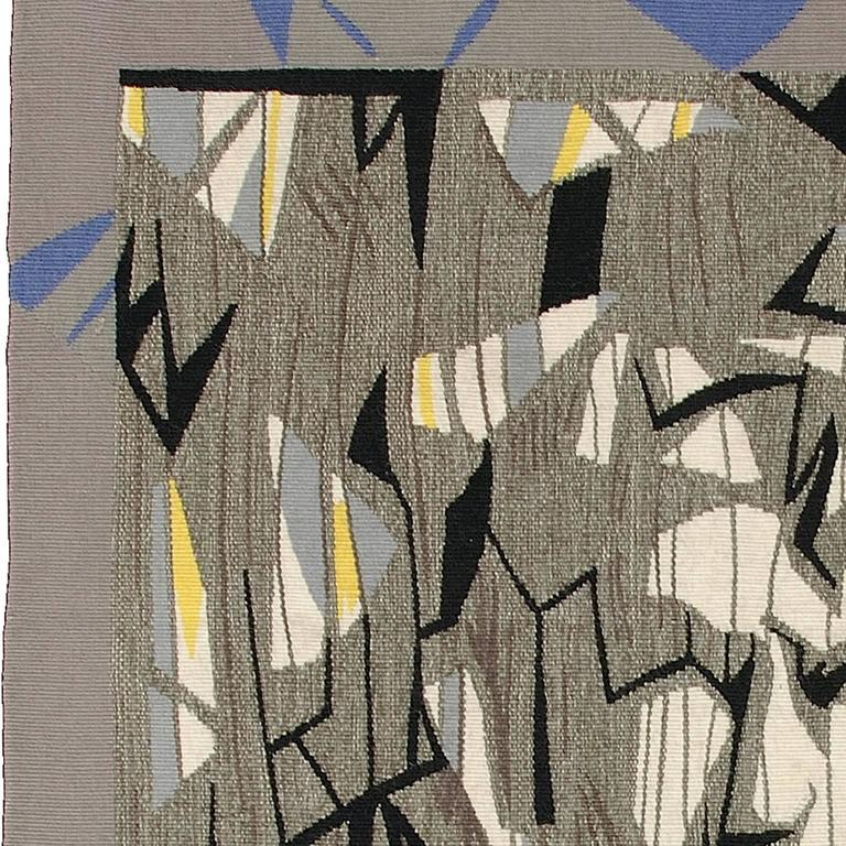 Mid-20th Century Lars-Olof Gynning, Swedish Wall Hanging, 1957 For Sale