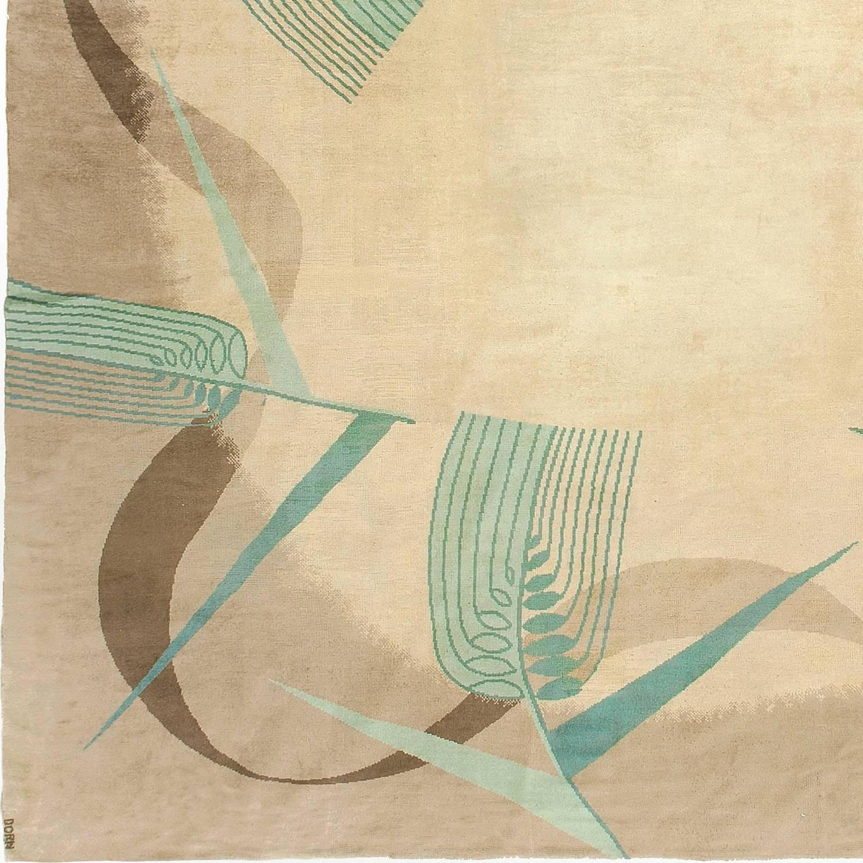 Marion Dorn English Art Deco Carpet 1930s For Sale At 1stdibs