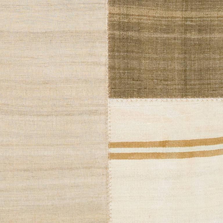 Mid-20th Century Vintage Kilim Composition Carpet For Sale 1