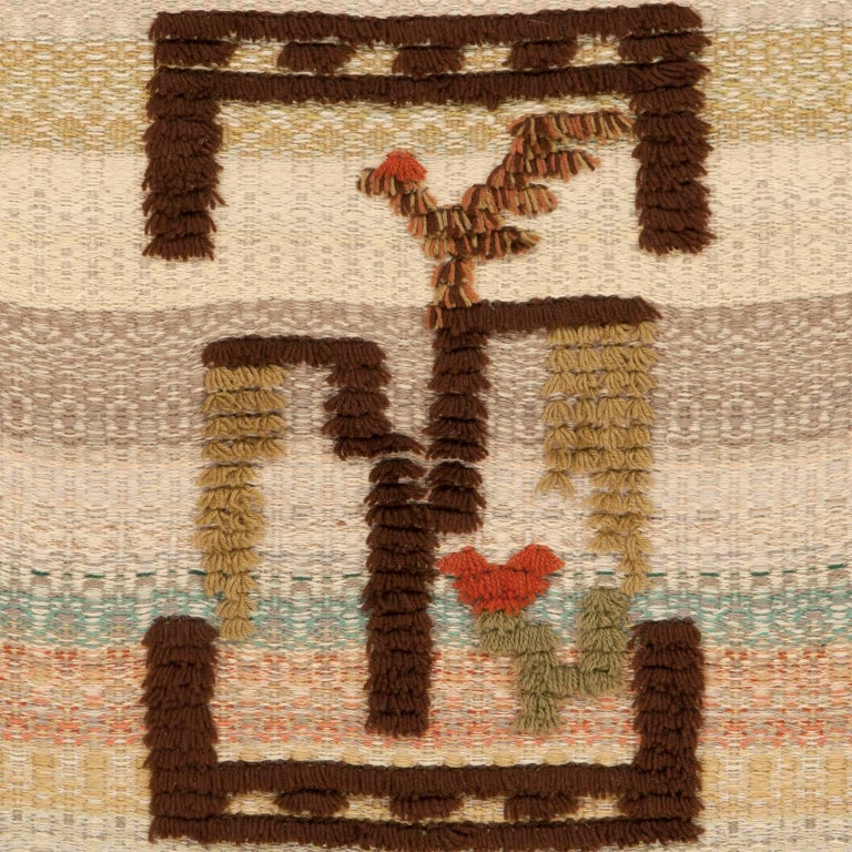 Finnish Wall Hanging, 1930s 3