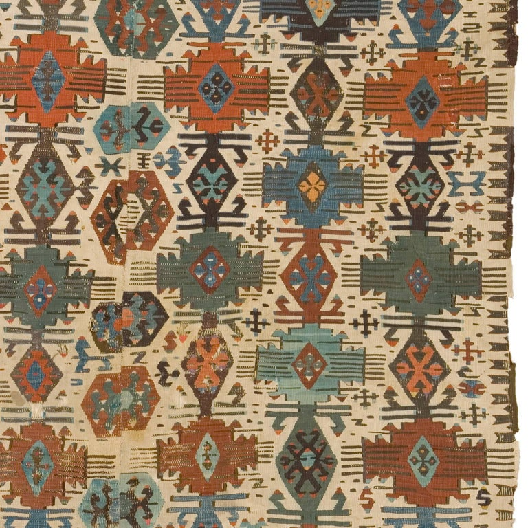 20th Century Turkish Kilim Carpet For Sale At 1stdibs