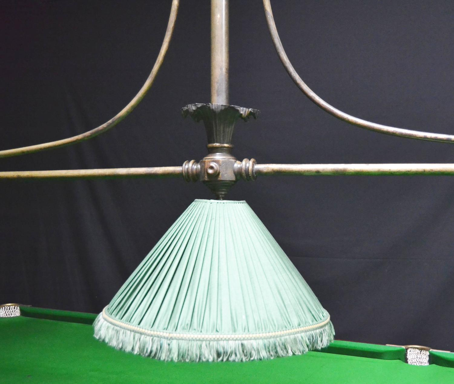 Antique Billiard, Snooker, Or Pool Table Light At 1stdibs