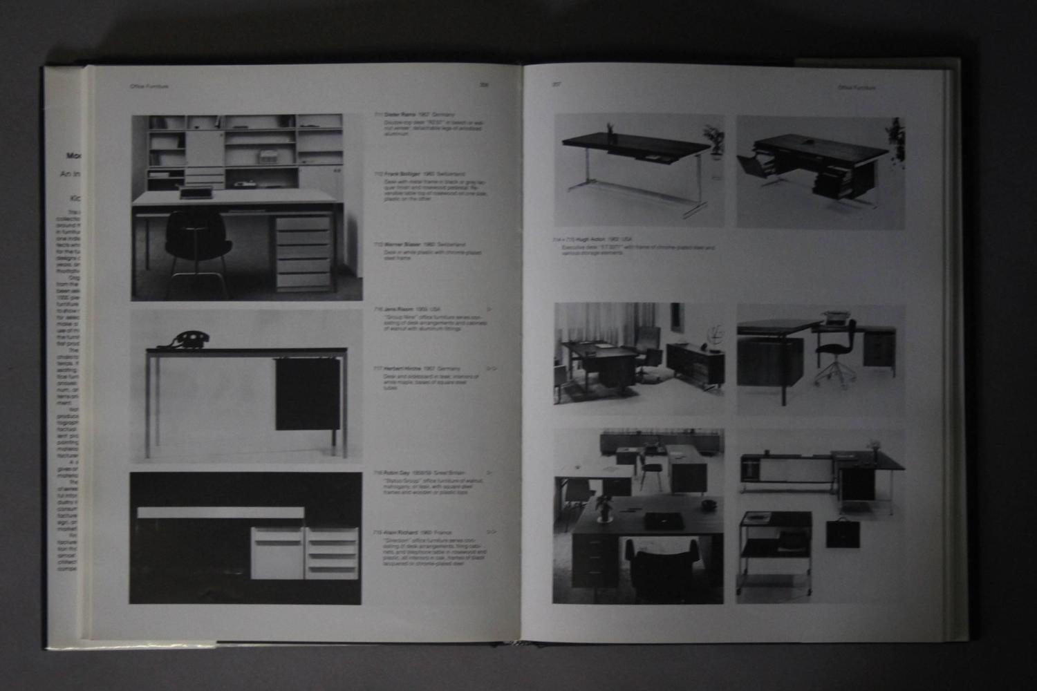 Modern furniture design 1950s 1980s book for sale at for 1980s furniture design