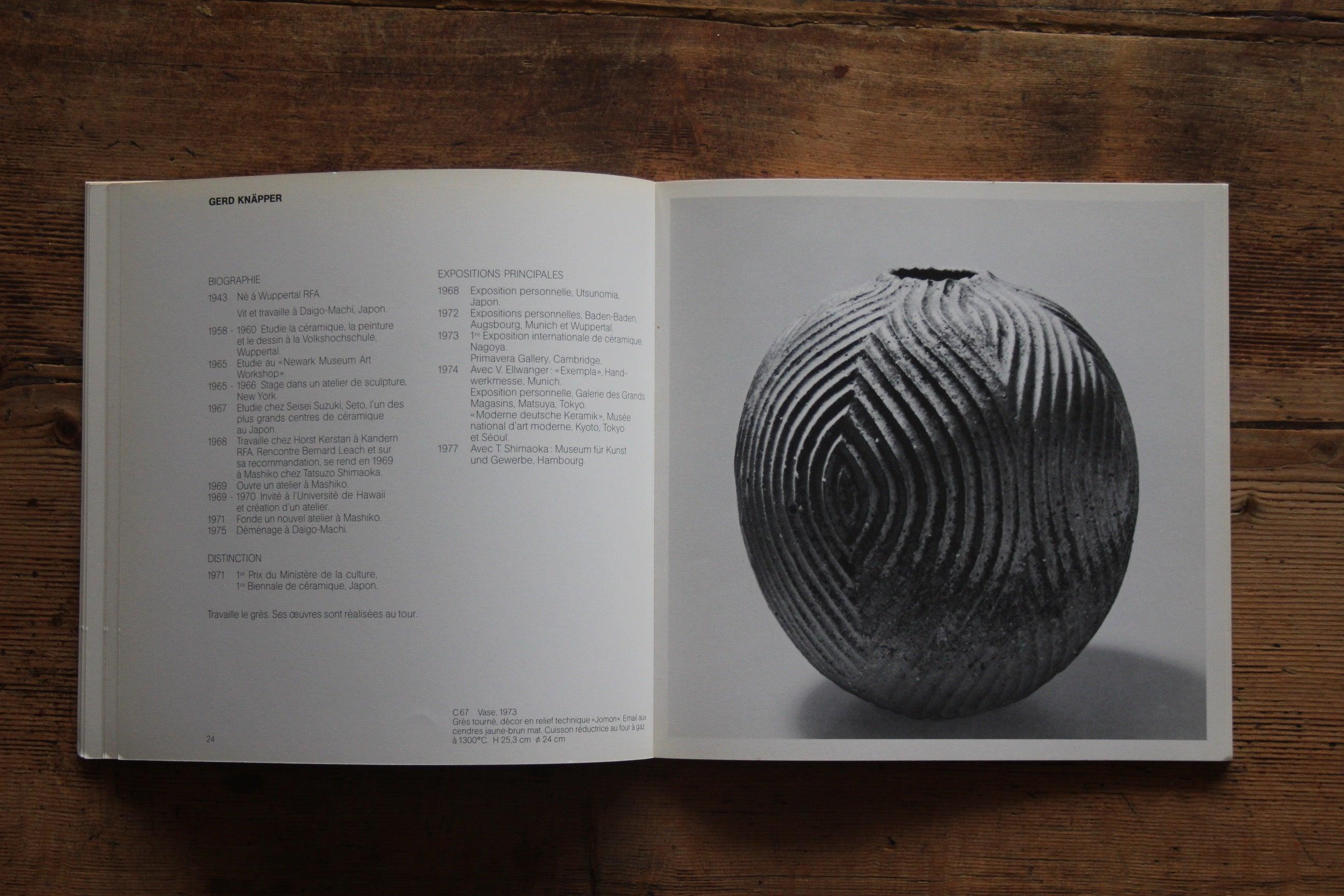 """Piano Avec Four Gaz céramique contemporaine européenne et japonaise"""" book for"""