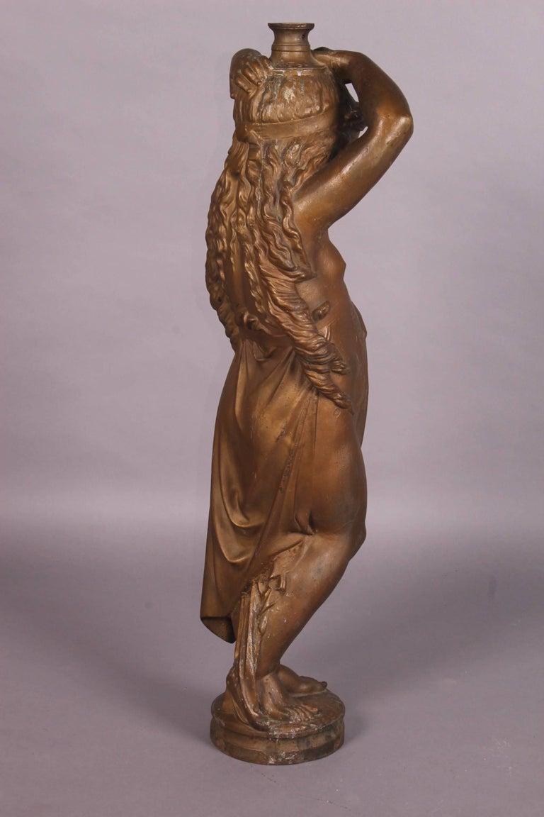 Cast iron garden sculpture for sale at 1stdibs - Wrought iron garden sculptures ...