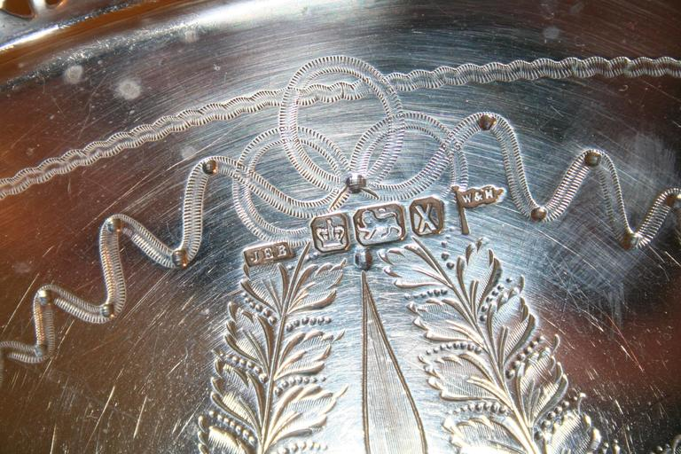 1900 hair styles silver tray sheffield 1892 for at 1stdibs 2329