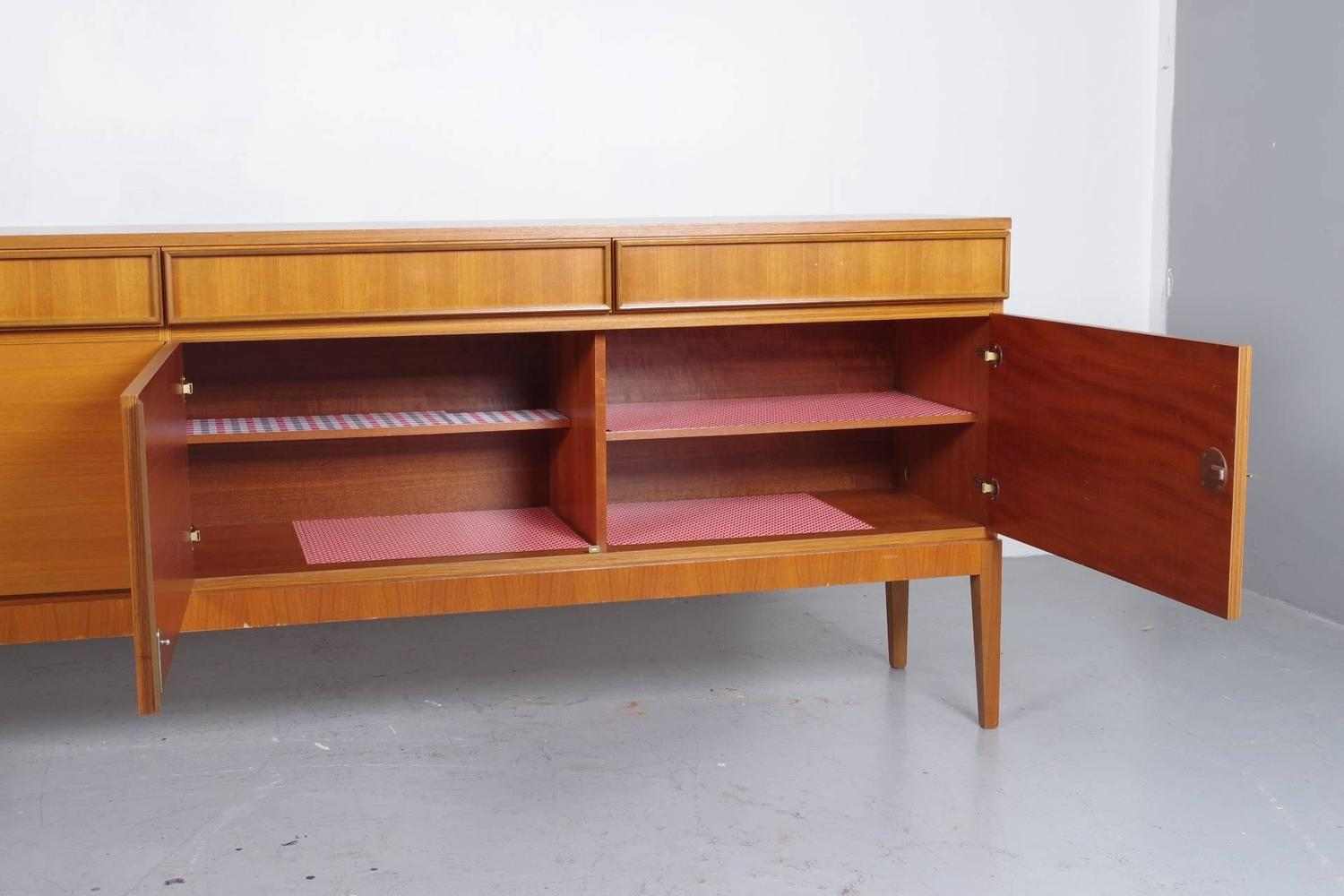 musterring teak sideboard for sale at 1stdibs. Black Bedroom Furniture Sets. Home Design Ideas