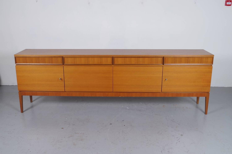 musterring teak sideboard for sale at 1stdibs. Black Bedroom Furniture Sets. Home Design Ideas