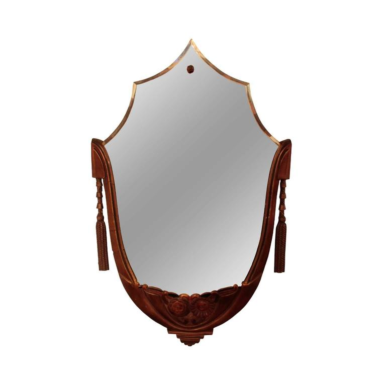 American Art Deco Period Wall Mirror