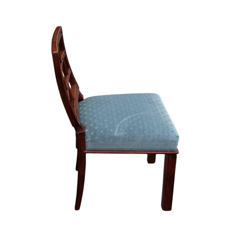 German Art Deco Period Set of Eight Dining Chairs 3