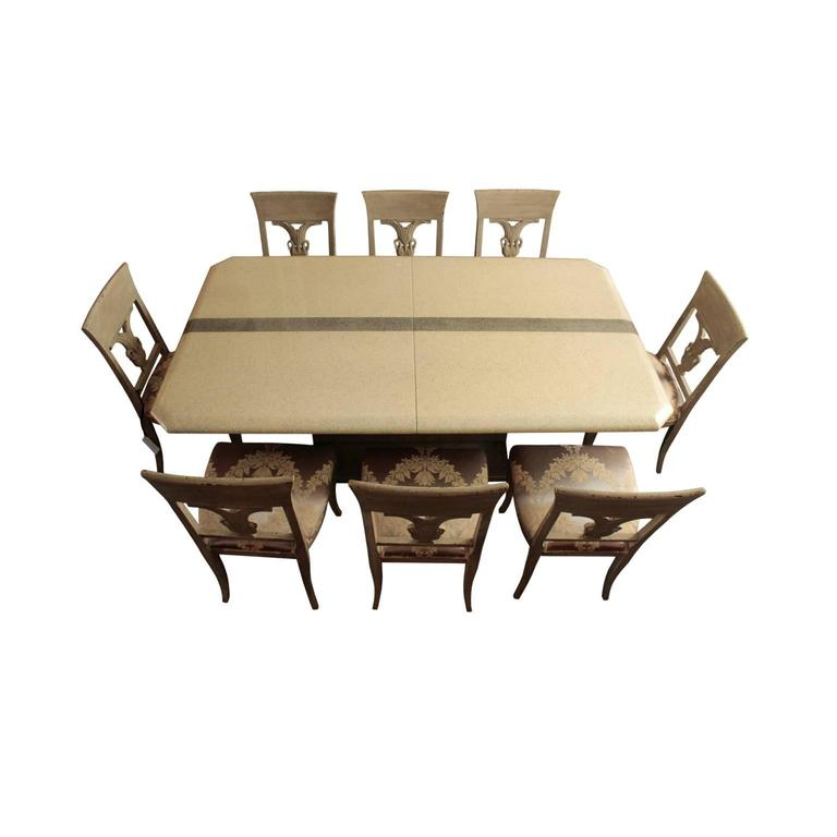 Large Italian 1970s Extension Dining Table At 1stdibs