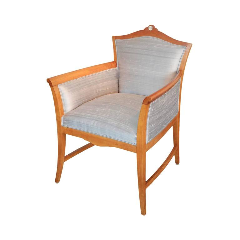 Pair of Swedish Jugendstil Period Tub Chairs 2