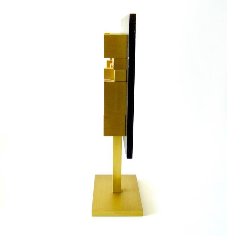 Aluminum sculpture entitled