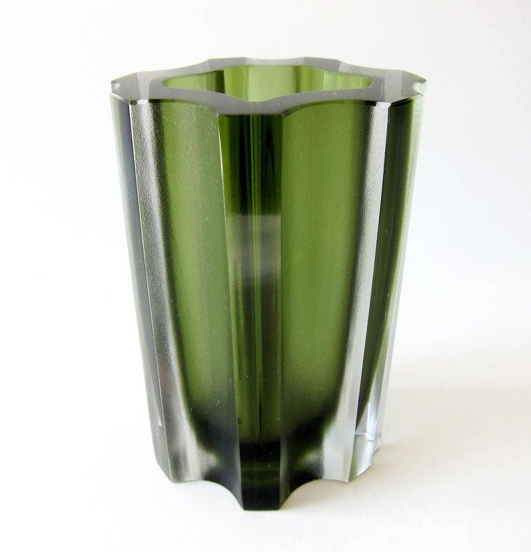 Tapio Wirkkala For Iittala Finnish Modernist Fluted Vase For Sale At