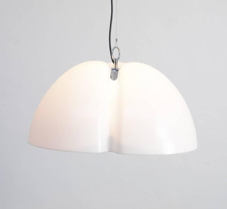 Organic Modern Tricena Hanging Lamp By Ingo Maurer For M Design, 1968 For  Sale