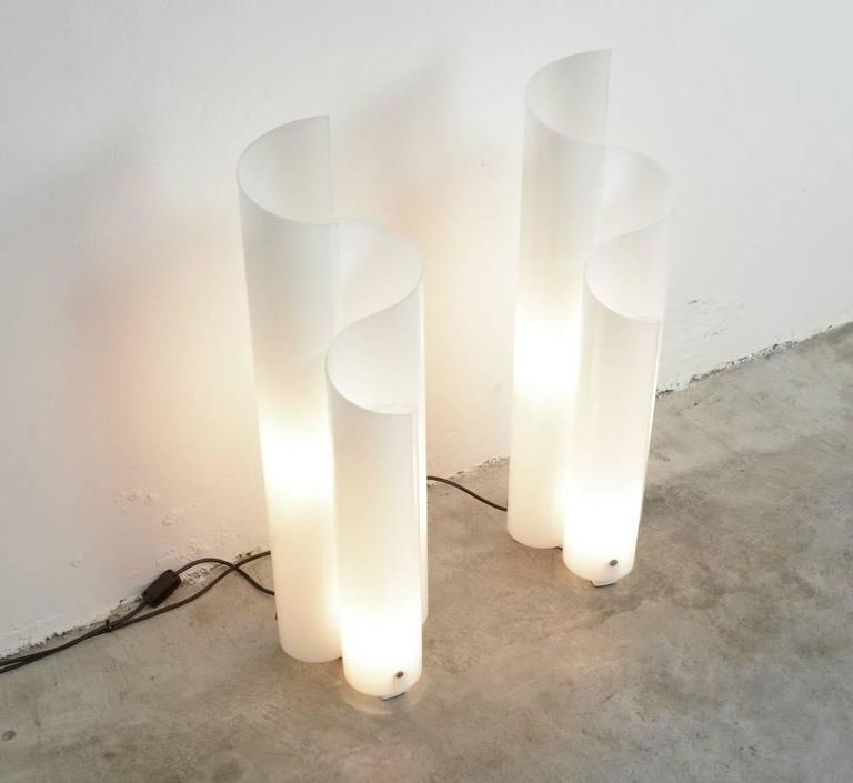 Mezzachimera Table Lamps By Vico Magistretti For Artemide