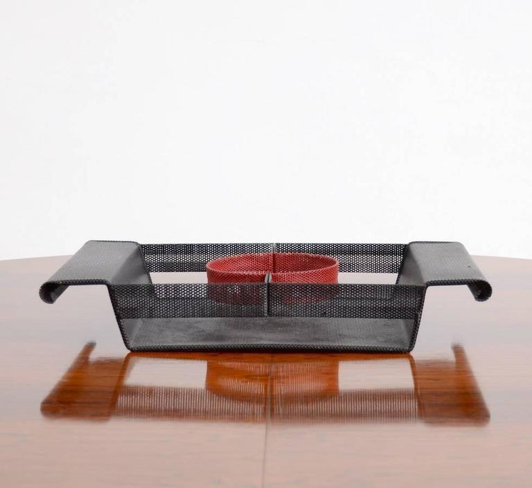 Mid-Century Modern Special Serving Tray in the manner of Mathieu Matégot For Sale