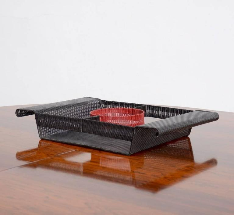 Special Serving Tray in the manner of Mathieu Matégot For Sale 3