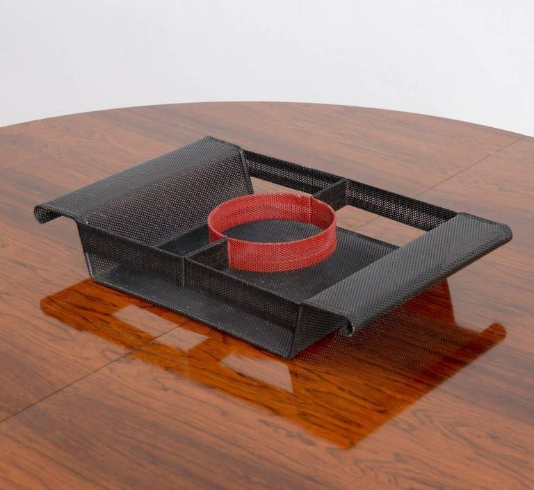 French Special Serving Tray in the manner of Mathieu Matégot For Sale