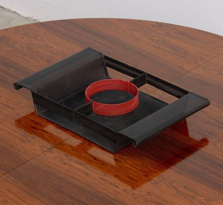 Special Serving Tray in the manner of Mathieu Matégot In Good Condition For Sale In Vlimmeren, BE