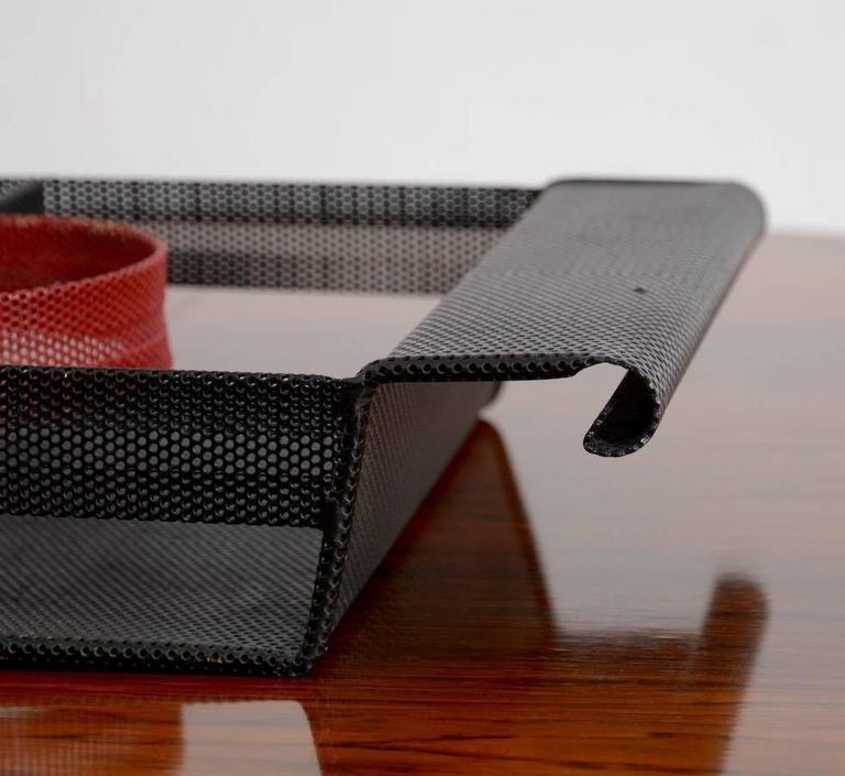 Special Serving Tray in the manner of Mathieu Matégot For Sale 1