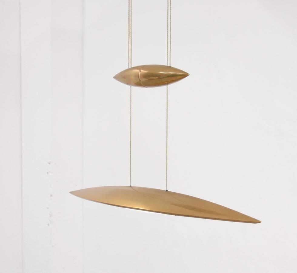solid brass pendant lamp tai lang 80 by tobias grau at 1stdibs. Black Bedroom Furniture Sets. Home Design Ideas