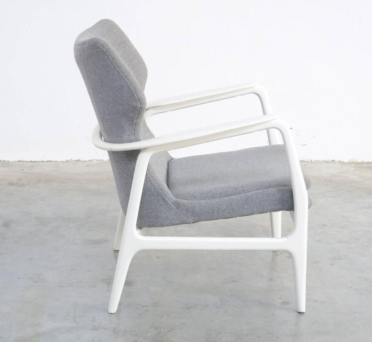Lacquered Easy Chair by Madsen & Schubell for Bovenkamp, 1960 For Sale
