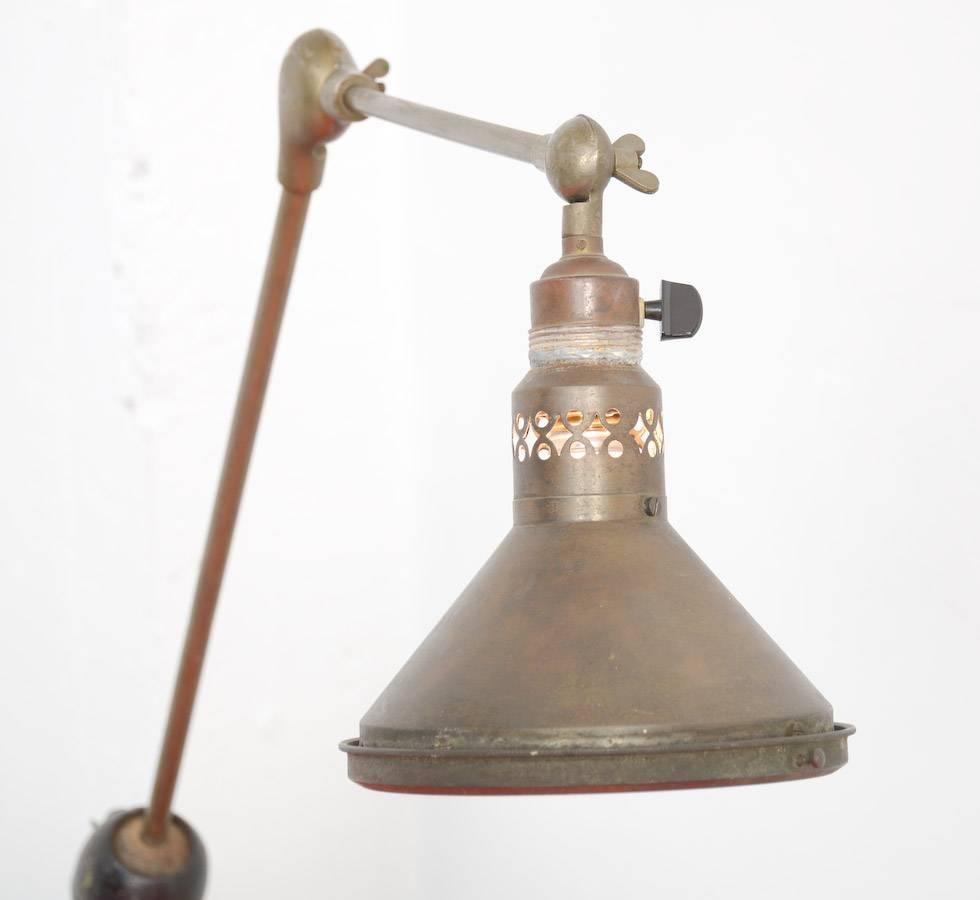 unique industrial desk lamp for sale at 1stdibs