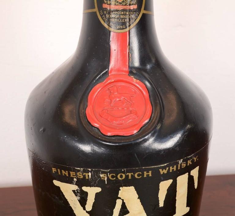 Old Vat 69 Blended Scotch Whisky Lamp For Sale At 1stdibs