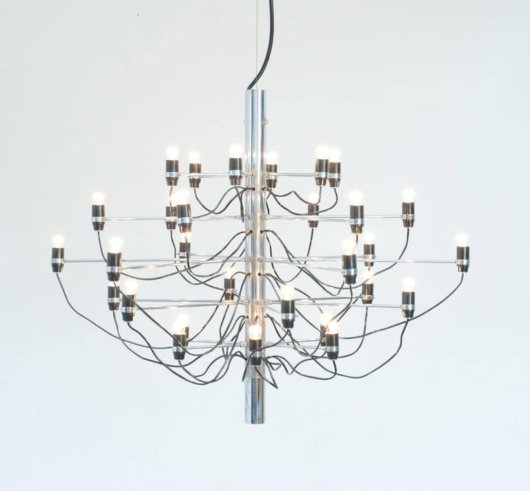 Chandelier Model 2097/30 by Gino Sarfatti for Arteluce 2