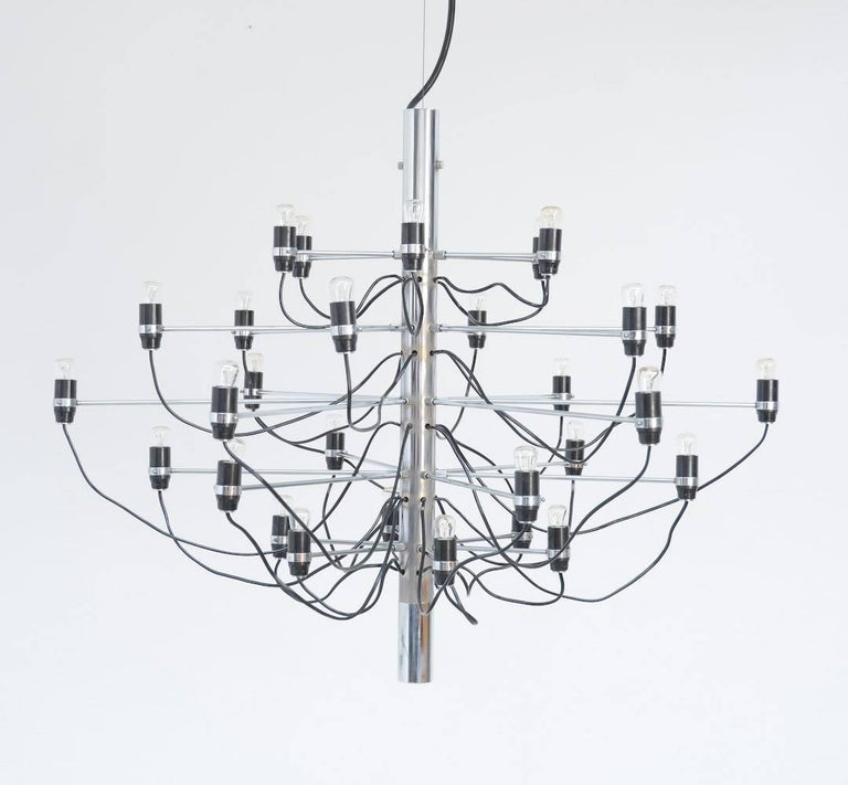 Chandelier Model 2097/30 by Gino Sarfatti for Arteluce 3