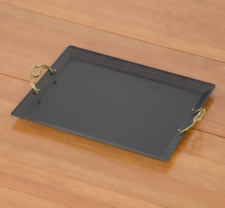 20th Century Serving Tray in the Manner of Mathieu Matégot For Sale
