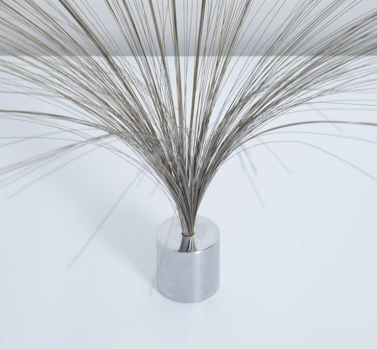 Mid-20th Century Dynamic Spray Sculpture by Harry Bertoia For Sale