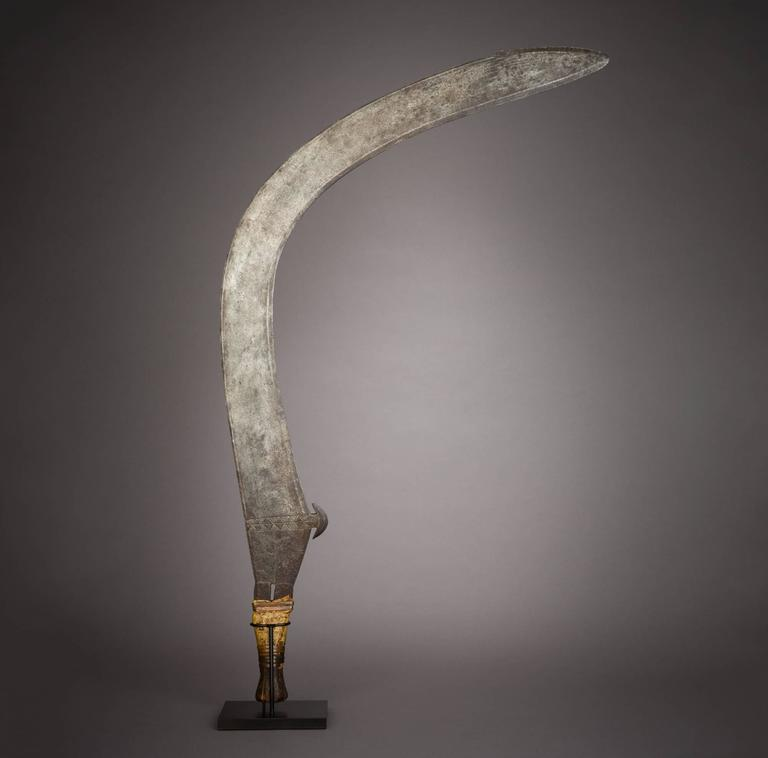 Late 19th Century Tribal Boa Sickle 2